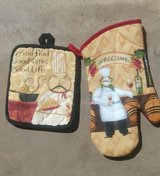 Oven Mitt and Hot Pad in Alamogordo, New Mexico