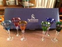 Limited Edition Nachtmann Crystal wine glass set in Fort Leonard Wood, Missouri