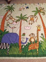 Jungle shower curtain set in Nellis AFB, Nevada
