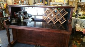 Custom bar created from old piano in Kingwood, Texas