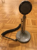 Old Amplified base station microphone AmericanElectronics Model 95-328 in Ramstein, Germany