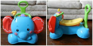 Fisher-Price 3-in-1 Bounce, Stride & Ride Elephant in Springfield, Missouri