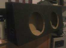 Enclosure box for two 12 inch subs in Fort Leonard Wood, Missouri
