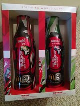 FIFA World Cup Coca-Cola McDonald's aluminum bottles in Glendale Heights, Illinois