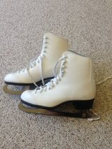 Women's Leather Ice Skates(REDUCED) WINTER IS COMING! in Plainfield, Illinois