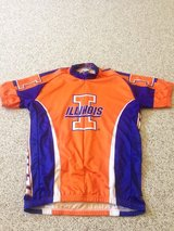 NEW Univ. of Illinois Biking jersey (REDUCED)  CHRISTMAS GIFT! in Glendale Heights, Illinois