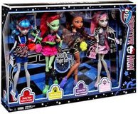 MONSTER HIGH GHOULS NIGHT OUT 4 DOLL EXCLUSIVE SET NEW in Naperville, Illinois
