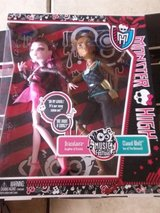 MONSTER HIGH MUSIC FESTIVAL 2 DOLL SET EXCLUSIVE AND NEW in Naperville, Illinois