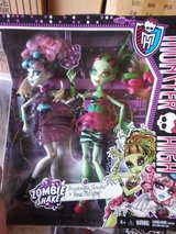 MONSTER HIGH ZOMBIE SHAKE 2 DOLL SET NEW in Naperville, Illinois