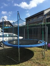 Large Trampoline with steps in Ramstein, Germany