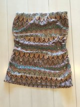 EXPRESS sequin tube top (XS) NWOT in Okinawa, Japan