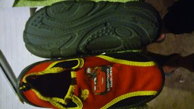 """LIGHTNING McQUEEN"" SWIM SHOES-BOYS SIZE 11/12-Like New!& #2 prs.""CARS"" SWIM TRUNKS-LIKE NEW!!! in Chicago, Illinois"
