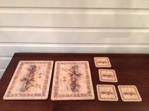Pimpernel Cork-Backed Trivet / Small Placemat and Coaster Set (8 Pieces) in Chicago, Illinois