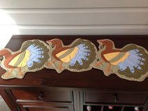 Thanksgiving Placemats from Pottery Barn - Set of 3 in Glendale Heights, Illinois