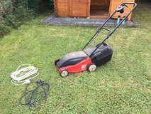 Electric Lawn Mower - 220 Voltage - Cables Included - Available Mid-October in Ramstein, Germany