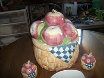 5 PIECE COOKIE JAR SET in Alamogordo, New Mexico
