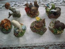 Franklin Mint animal figurines by Peter Barnett in Ramstein, Germany
