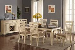 Easy Financing Available! New Dining Room Sets! in Fort Irwin, California