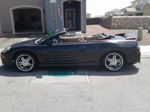Mitsubishi eclipse gt spyder in Fort Bliss, Texas