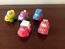 Set of 5 Mini Vehicles with Eyes in Naperville, Illinois