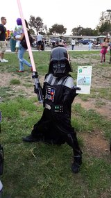 Boys Darth Vader Costume in San Clemente, California