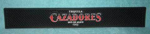 CAZADORES TEQUILA - BAR SERVICE MAT (NEW) in Chicago, Illinois