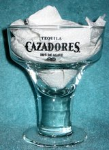 CAZADORES TEQUILA - MARGARITA GLASS (NEW) in Bartlett, Illinois