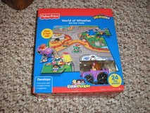 FISHER PRICE LITTLE PEOPLE WHEELIES PUZZLE SET, BUSY PLAYTIME BOOK ++++ in Bolingbrook, Illinois