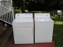 Washer and Dryer Kenmore set Newer Model Rounded top 3 MONTHS GUARANTEE in Macon, Georgia