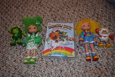 RAINBOW BRITE DOLL TOYS AND DVD HARD TO FIND in Bolingbrook, Illinois
