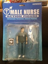 MALE NURSE ACTION FIGURE in Lakenheath, UK