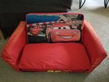 Disney's Cars toddler couch in Bolingbrook, Illinois