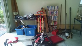 misc. sporting goods and fun outdoor stuff!! ice skates/rollerblades  sz6-10, jazz shoes, x coun... in Westmont, Illinois