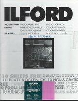 Ilford 8 x 10   RC DE LUXE Glossy 20 sheets $20.00 in Cherry Point, North Carolina