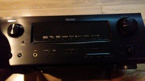 Denon home theater receiver and power sub in Fort Leonard Wood, Missouri