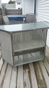 Patio Bar/Table and Two Bar Stools in Glendale Heights, Illinois