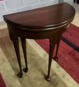 VINTAGE SOLID CHERRY  Hall, Entry or Game Table  - HARDEN FURNITURE in Bartlett, Illinois