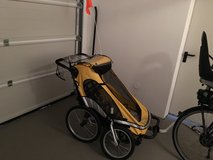 Stroller/Jogger/Trailer for two kids Zigo Mango X2 Complete in Ramstein, Germany