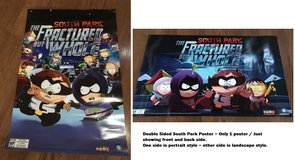 Promo South Park The Fractured But Whole Video Game Poster Full Size in Kingwood, Texas