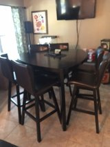 Hightop Table With 6 chairs in Pensacola, Florida