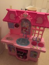 REDUCED TO SELL - Disney Princess Play Kitchen with accessories in Cleveland, Texas