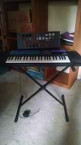 Yamaha keyboard with stand in Houston, Texas