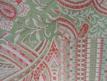 Upholstery Fabric (green multi) in Alvin, Texas