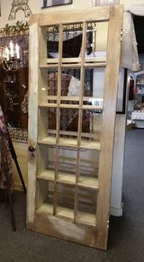 French door shelving unit, custom in Baytown, Texas