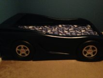 Little Tikes Blue Twin Car Bed in Baytown, Texas
