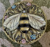 LARGE BEE TRINKETS BOX in Lakenheath, UK