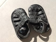 Toddler -0 Black Sandals in Ramstein, Germany