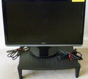 "DELL 22"" WIDE FLAT-SCREEN COMPUTER MONITOR w/HDMI & MONITOR STAND/LIFT in Sugar Land, Texas"