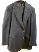 "3 MENS BLACK SUITS,Cost over $200 ea, Size 42-44, Slacks 38-40"" Waist,Worn Twice in Sugar Land, Texas"