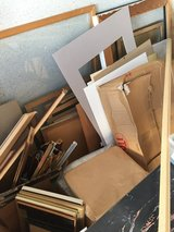 STORAGE UNIT FULL OF ARTIST SUPPLIES - FREE to ID Holder Only in Ramstein, Germany